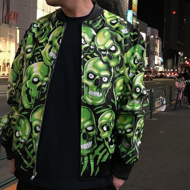 a7e4426dc79 Supreme(シュプリーム) 18SS Skull Pile Leather Bomber Jacket レザージャケット 新品